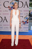 Jessica Stam at the 2014 CFDA Awards