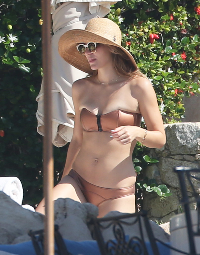 Katharine McPhee Brings Her Bikini South of the Border
