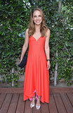 Natalie Portman in a Red Christian Dior Dress at a 2013 Dance Project Benefit