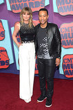 Jennifer Nettles and John Legend