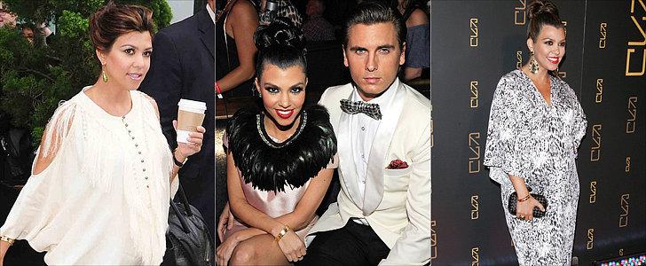 Round 3 of Kourtney Kardashian's Right-On-Trend Maternity Style