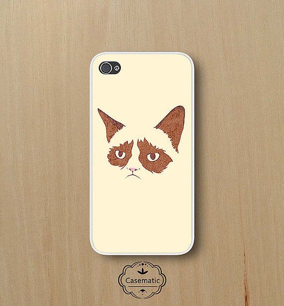 Even your moodiest friend would love this Grumpy Cat phone case ($10).