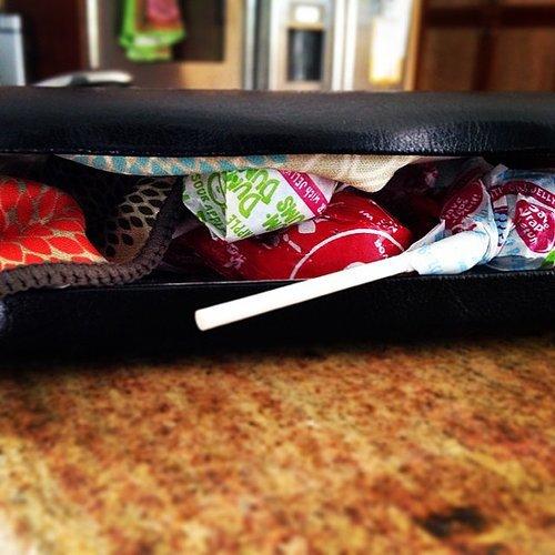 Always carry lollipops.