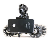 The photo-loving Dad will get cinematic, sweeping shots on the go with the smooth rolling wheels of the iStabilizer dolly ($40) for smartphones. The mount can also be detached and used on tripods with a standard camera mount.