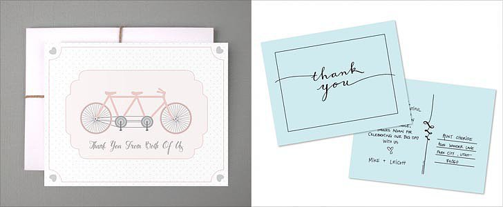 22 Free Wedding Thank You Card Printables With a Unique Twist