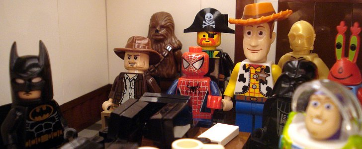 And Now, Your Favorite Geeky Characters as . . . Legos!