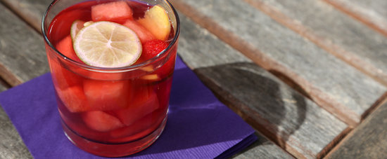Vibrantly Sip Summer With a Watermelon Sangria