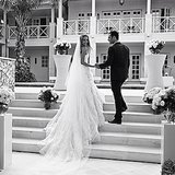 Another wedding shot that Jen shared on their one-year anniversary.