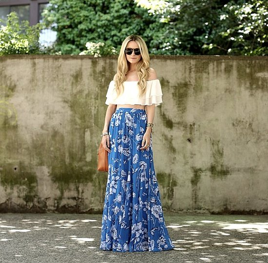 Fashion Instagram Pictures of Fashion Bloggers in Crop Tops