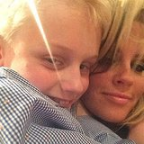 Jenny McCarthy celebrated her son, Evan Asher, moving to NYC with a cute selfie. Source: Instagram user jennyannmccarthy