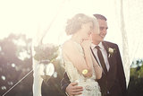 Magpies, Beware: This Bride's Dress Packs a Sparkly Punch