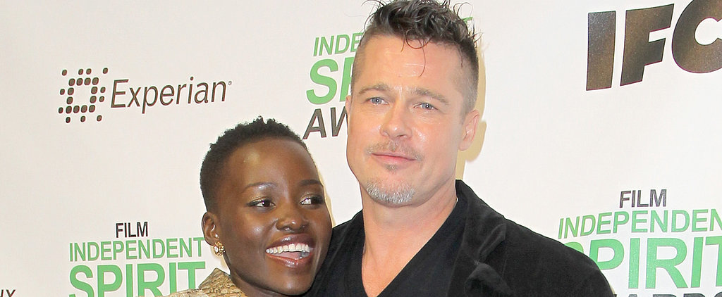 Lupita Nyong'o Reunites With Brad Pitt and Her 12 Years Dream Team