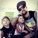 Joel Madden With Harlow and Sparrow