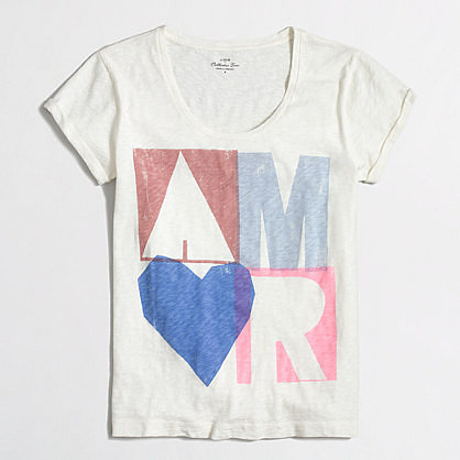 Factory amor collector tee