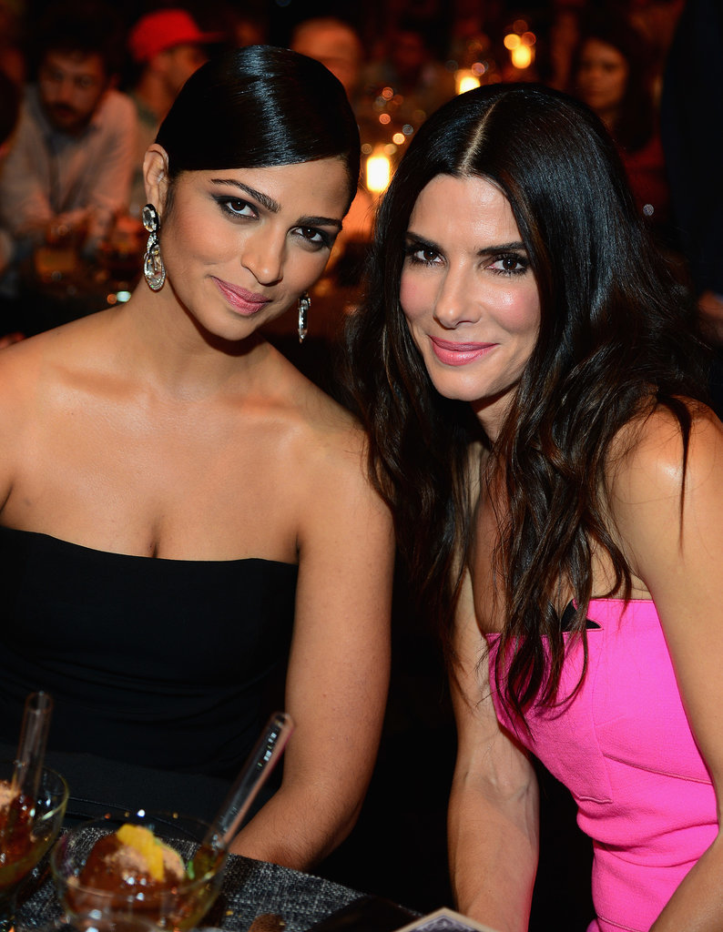 Sandra Bullock and Rihanna Crash the Biggest Guys' Night Out