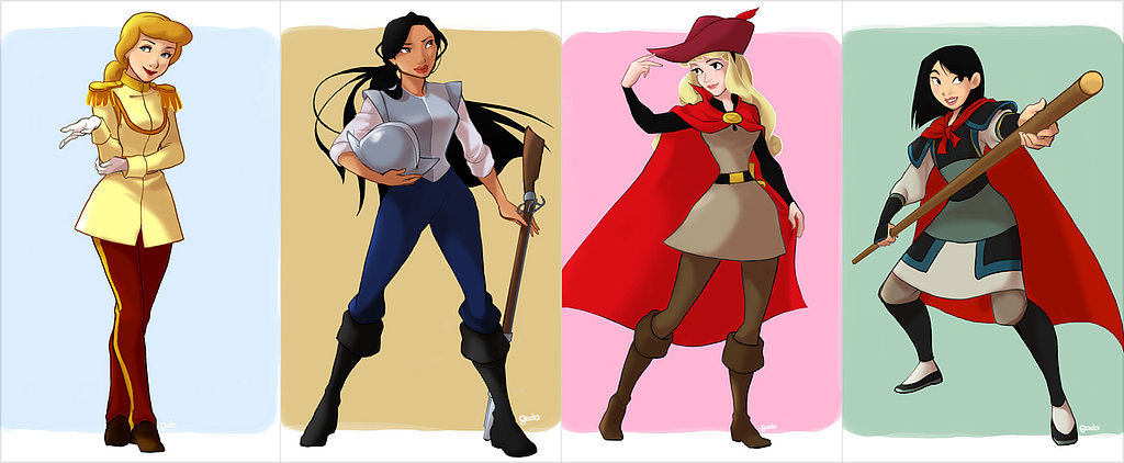 Cross-Dressing Disney Princesses?