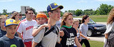 Teen Carries Brother 40 Miles to Raise Awareness For Cerebral Palsy