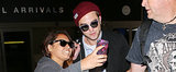 Robert Pattinson Isn't Too Jet-Lagged to Take a Selfie