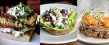 Open-Faced Sandwich Ideas to Help You Cut Calories