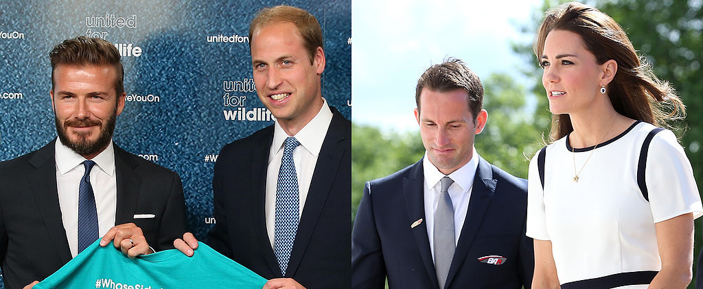 Royal Report: Kate and William Get to Work For Athletes and Animals
