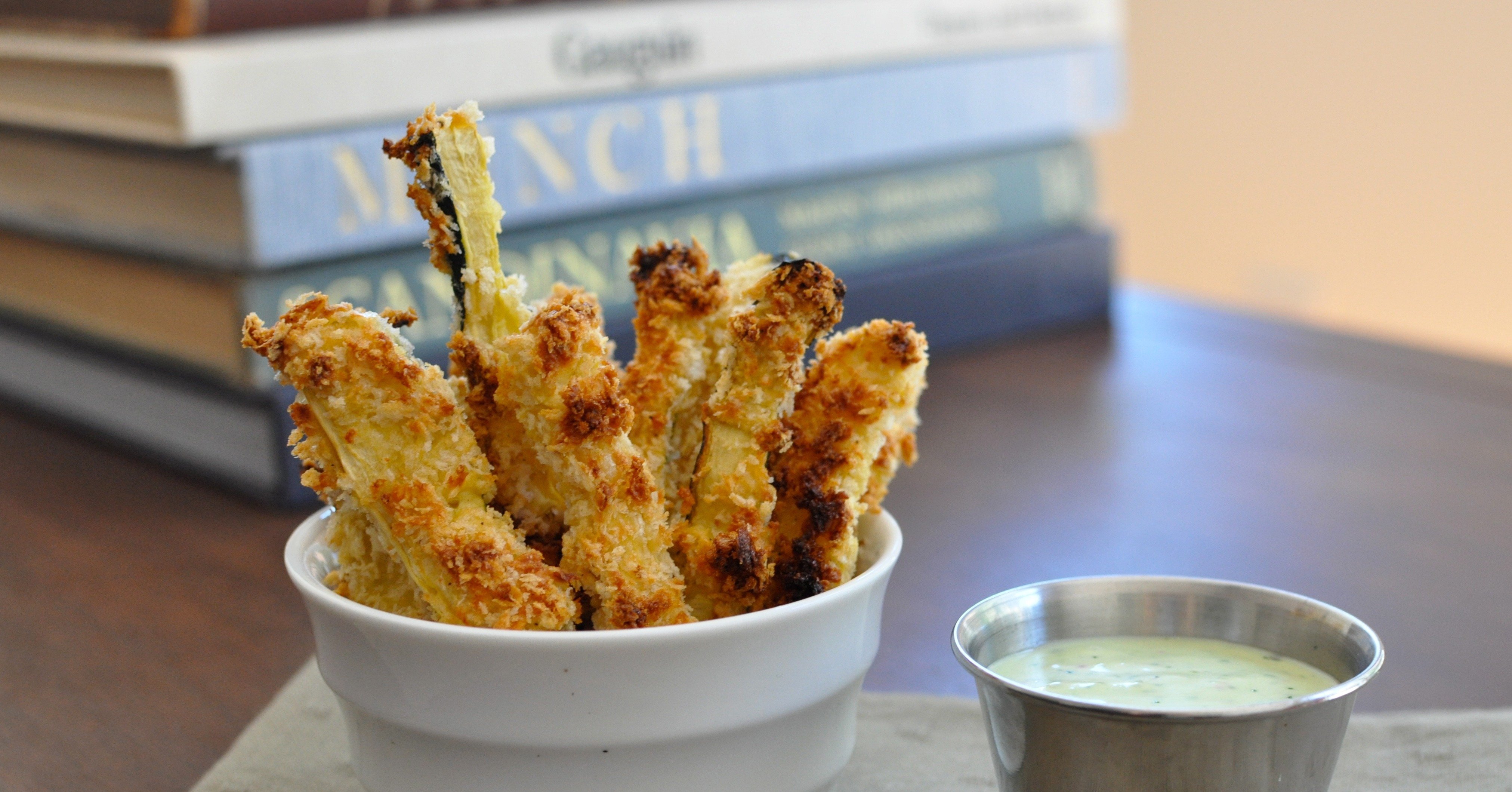 Zucchini Fries With Buttermilk Ranch Dip | 40 Killer ...