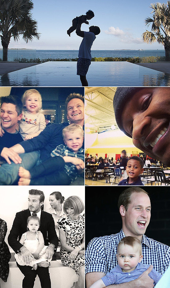 In Honor of Father's Day, 10 Famous Dads We'd Love to Call Our Own