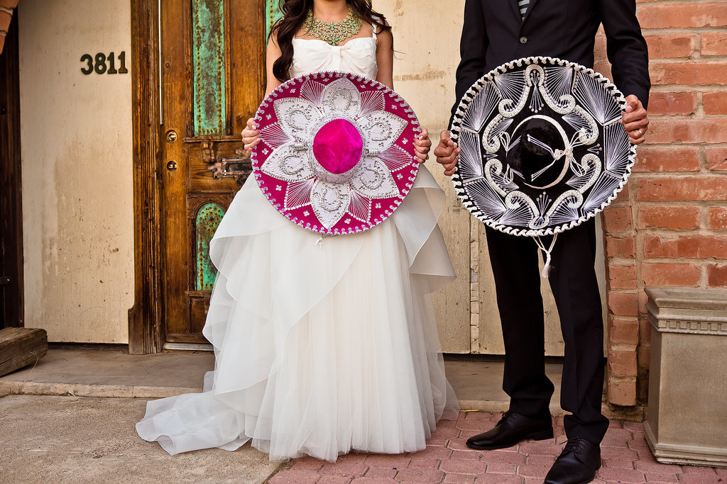 Maurice and Pascale's Colorful, Modern Multicultural Wedding