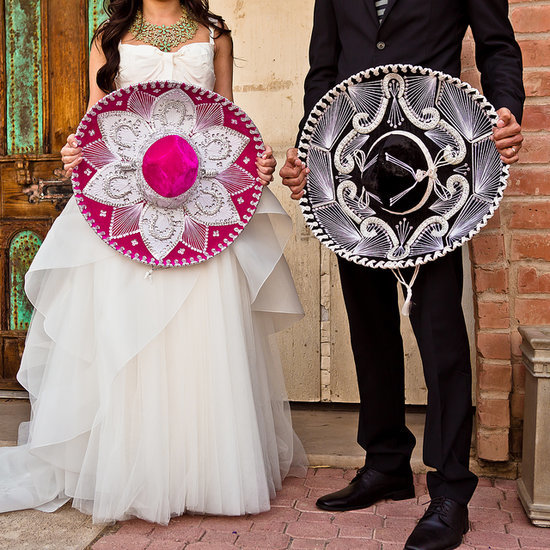 Modern Colorful Mexican Wedding