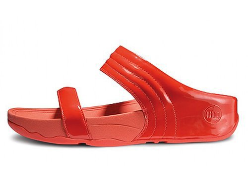 FitFlop Walkstar Slide Sporty Red Women OnlineOutlet