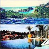Celebrities: Take Stunning Shots of Infinity Pools