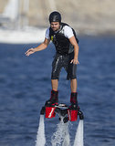 Celebrities: Tread Water on Fancy Flyboards
