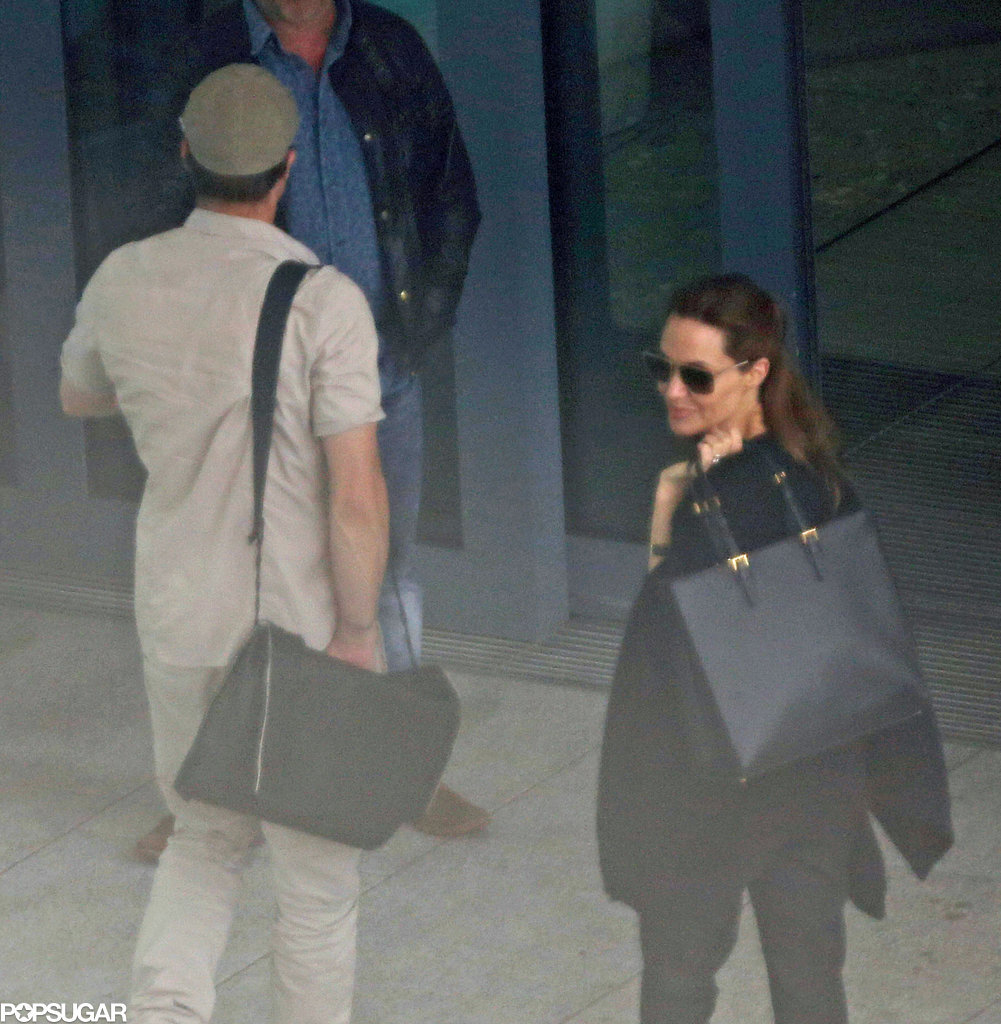 Cheerio! Angelina Jolie and Brad Pitt Bid Farewell to London