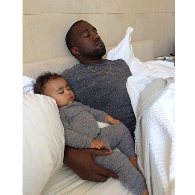Kim Snaps North and Kanye's Most Adorable Picture Yet