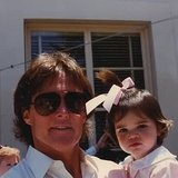 """In her Father's Day post, Kendall Jenner thanked her dad, Bruce, aka """"the most wonderful man I know,"""" with a picture taken when she was just a little girl.  Source: Instagram user kendalljenner"""