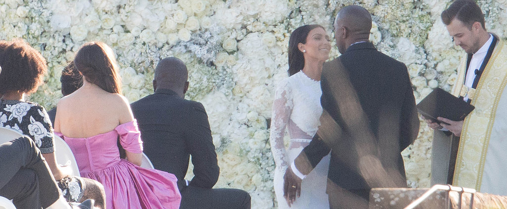 Kim and Kanye Wedding Pictures You Haven't Seen!