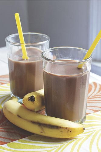 Chocolate and Banana Nut Butter Blast