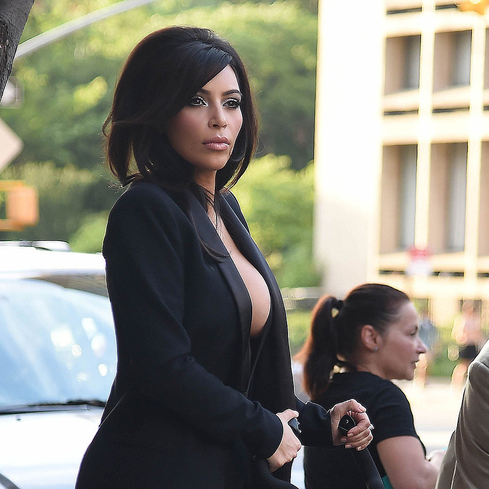Kim Kardashian Clearly Isn't Shy When It Comes to Showing Skin