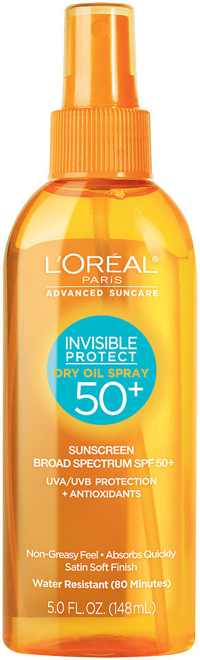 L'Oréal Advanced Suncare Invisible Protect Dry Oil Spray SPF 50+