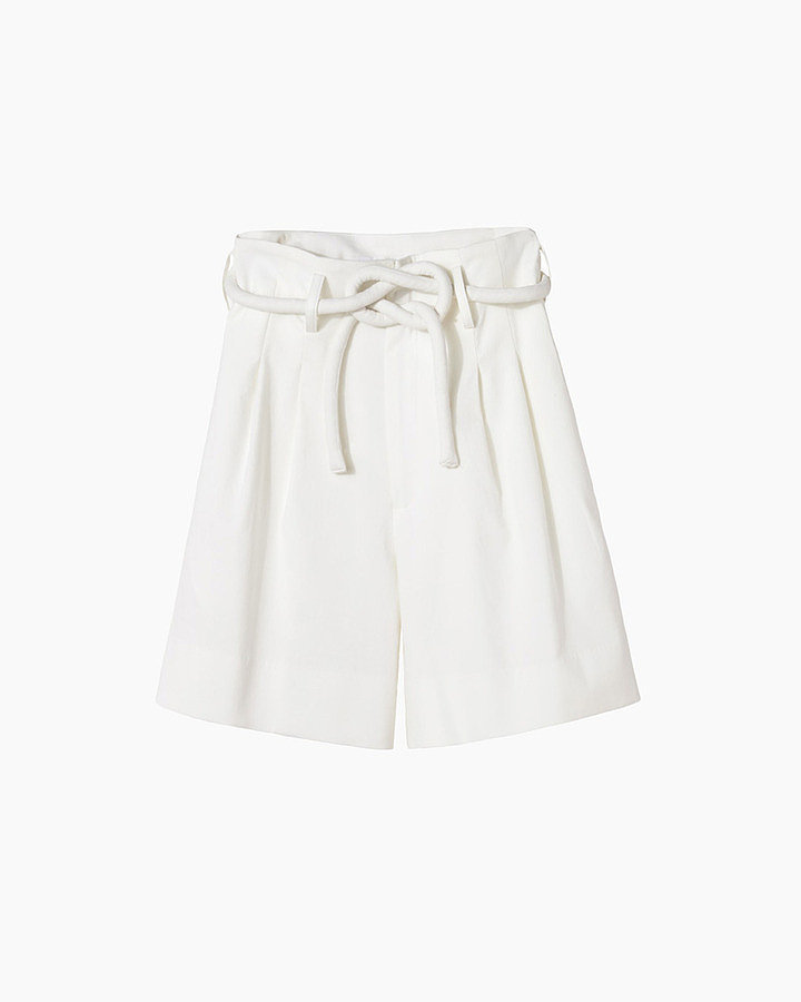 Apiece Apart Paper-Bag Waist Shorts