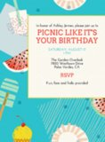 Go, Shorty, it's your picnic — so throw a party and use this colorful card (price upon request).