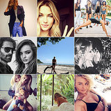 Celebrity Style Beauty Instagrams Miranda Kerr Lara Bingle