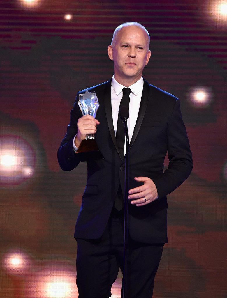 Ryan Murphy earned the esteemed LOUIS XIII Genius Award