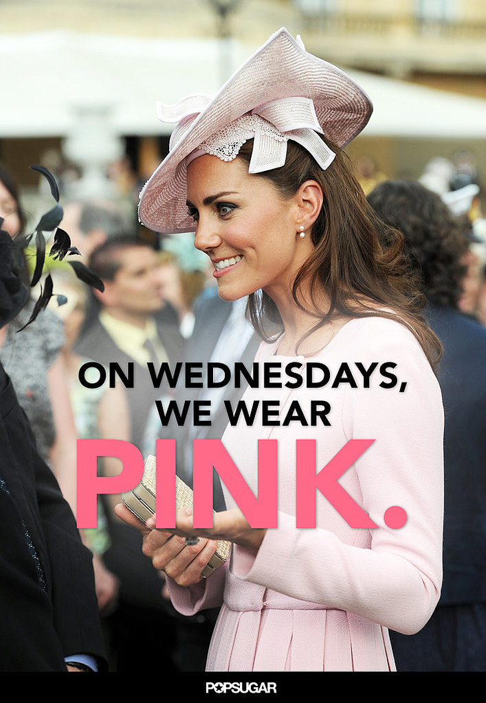 Mean Girls Quotes as (Not Really) Said by Kate Middleton