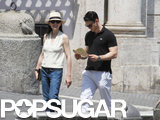 On Saturday, Julianna Margulies and husband Keith Lieberthal went sightseeing in Rome.