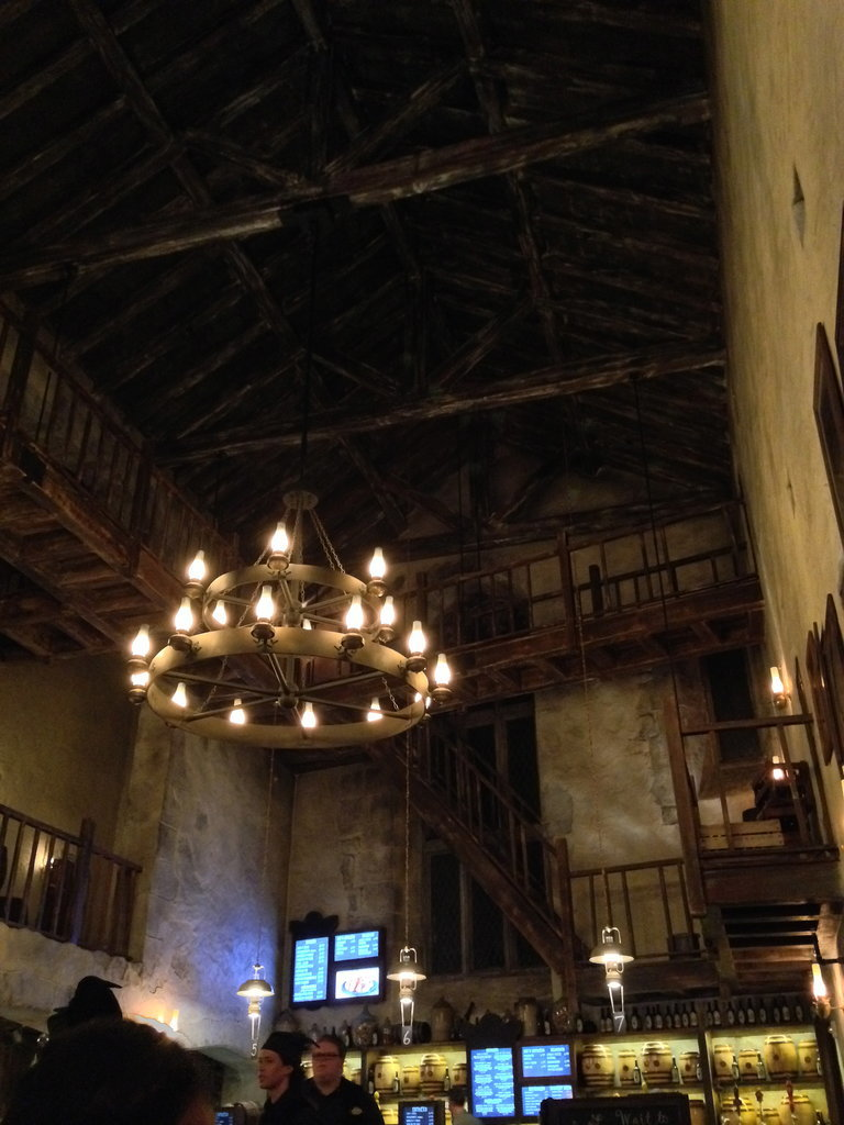 The Leaky Cauldron is another example of ho