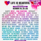 Life is Beautiful Festival Lineup 2014