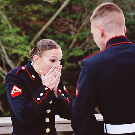 Emotional Proposal Pictures
