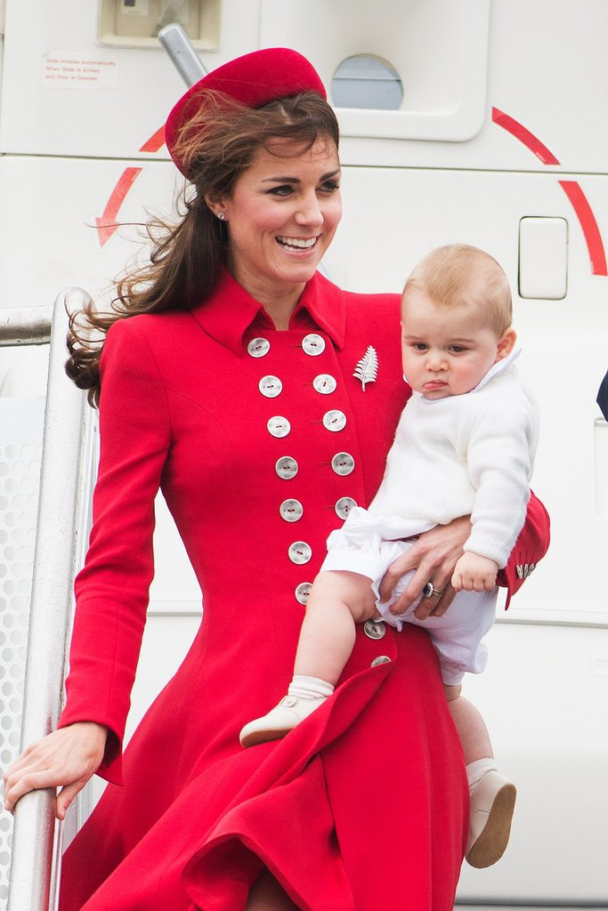 Prince George's First International Trip