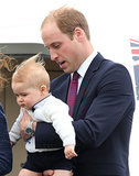 Prince George's First Trip to Australia