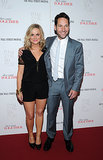 Amy Poehler and Paul Rudd attended an NYC screening of They Came Together on Monday.